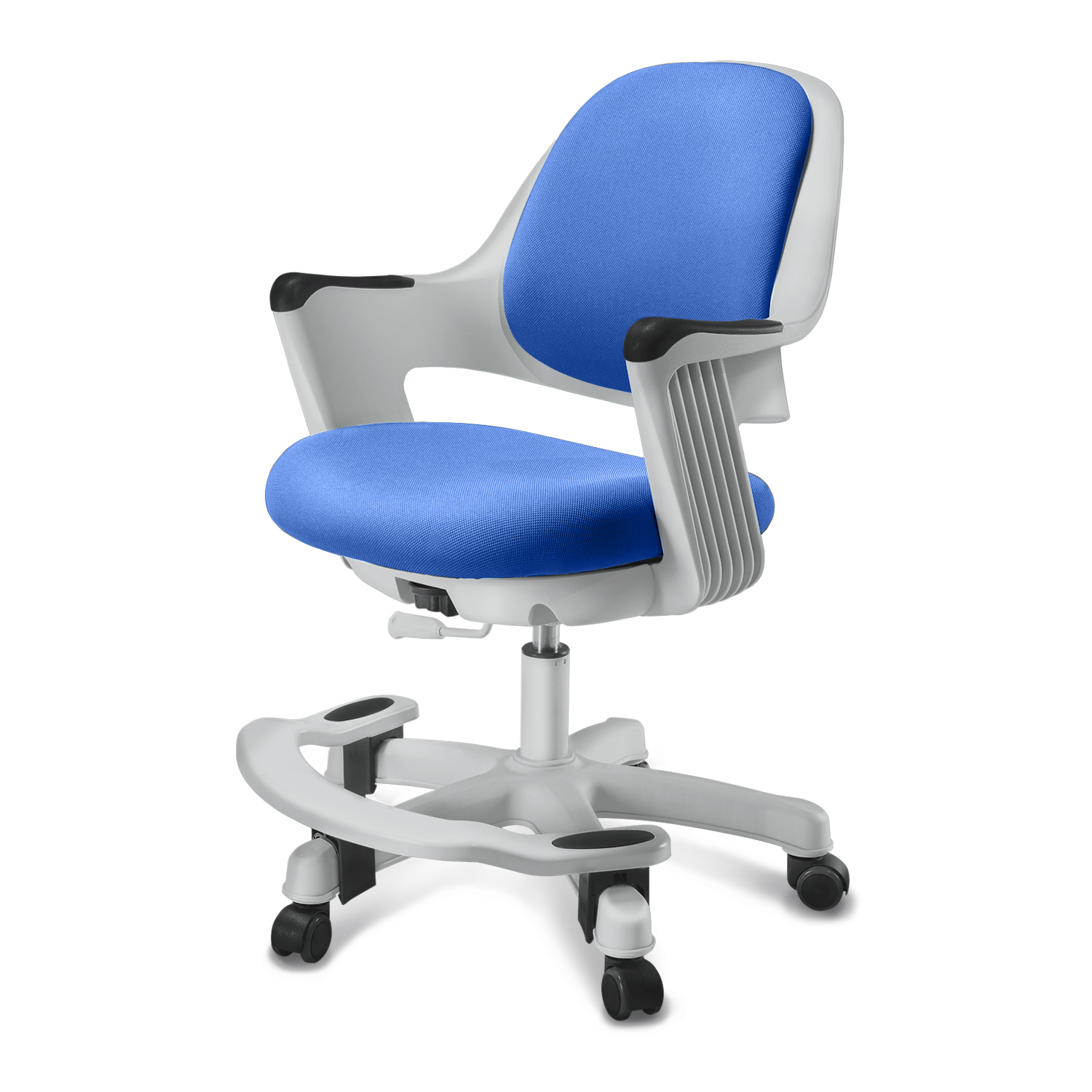 SitRite Children Chair Blue Grayscale image