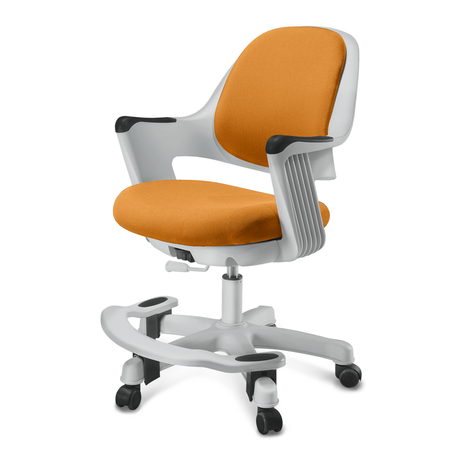 SitRite Children Chair Orange Grayscale image