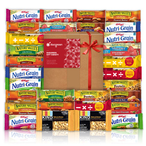 Snack Bar Gift Bundle Care Package 30 Count